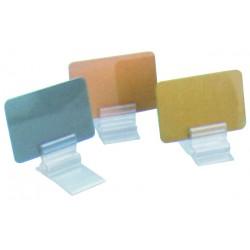 Porte-étiquette plastique