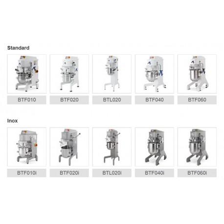 Batteurs mélangeurs de 10 à 60 lt