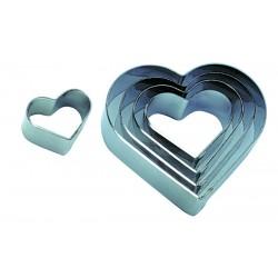 Découpoir coeur unis
