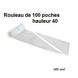 Poche à douille jetable 100pcs