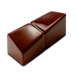 Plaque chocolat bonbons rectangle design