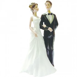 Figurine de mariage Mélanie