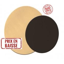 Rond uni Or/Noir