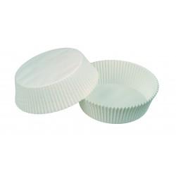 Caissettes Calypso blanche ronde