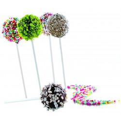 Moule 3D Silicone 12 sphères (sucettes)