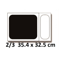 Bac inox 2/3 35.4 x 32.5 cm