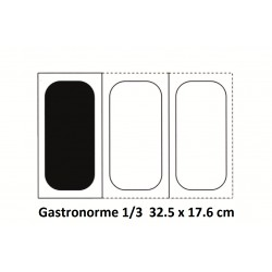 Bac inox 1/3 32.5 x 17.6 cm