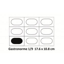 Bac inox 1/9 17.6 x 10.8 cm