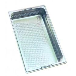 Bac inox perforé 1/1 53 x 32.5 cm